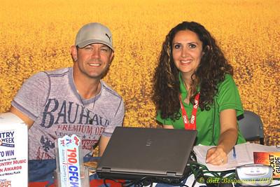 Aaron Pritchett & Stella Stevens from CFCW