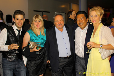 Andy Captain, Jenn Dalen,         , Mark Tamagi & wife - staff and owner of 93.1 The One in Leduc, AB.