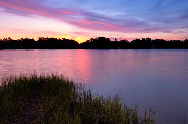 Sunrise over the Ware River
