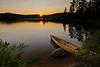 Lake Lila at Sunset