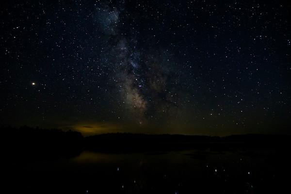 Milky Way over Nina Moose Lake