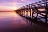 Sunrise over Yorktown Harbor