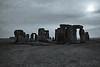 Sun over Stonehenge