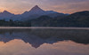 Sunrise on the Weissensee