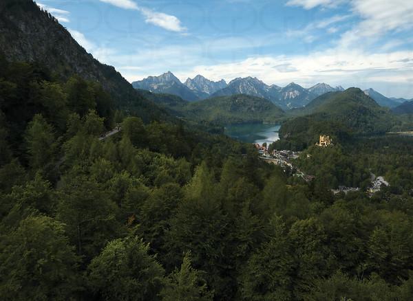 View Over Schwangau