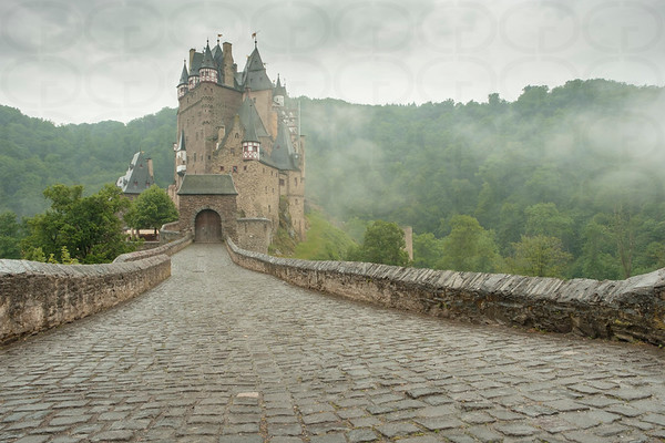 Burg Eltz in the Mist