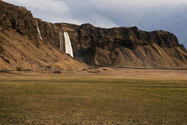 Seljalandsfoss from Afar