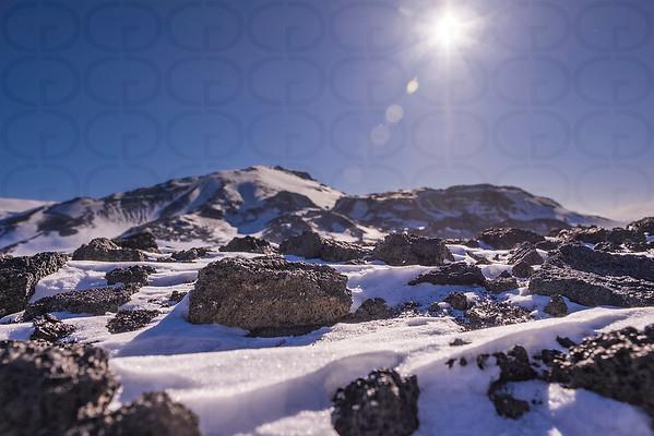 Lava in the Snow