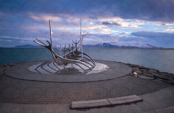 The Sun Voyager at Sunrise