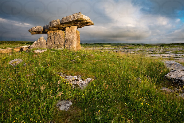 Morning Light on Poulnabrone