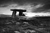 The Poulnabrone Dolmen (Monochrome)
