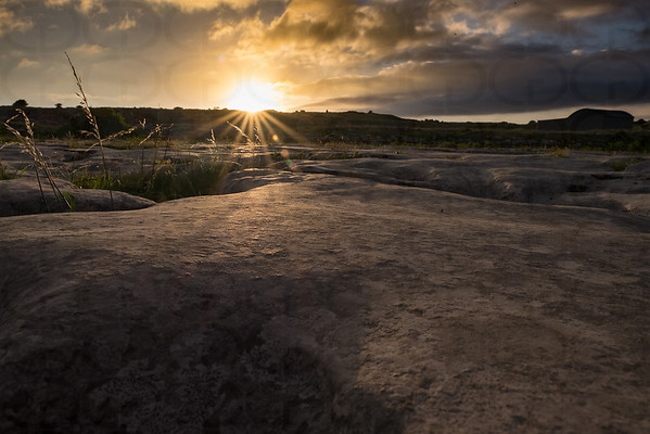 Sunrise on the Burren