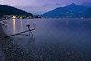 Nightfall on Lake Como
