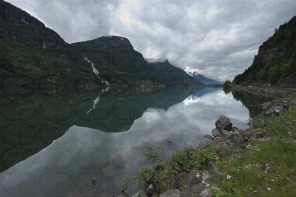 The Lake at Morning