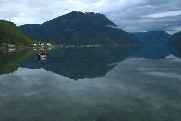 On the Lustrafjorden