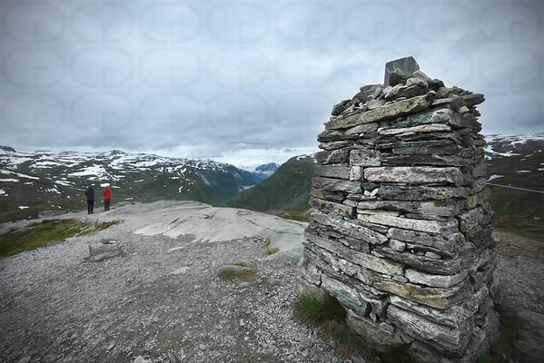 Looking down to Sogn og Fjordane