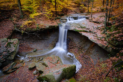 Blue Hen Falls in Autumn