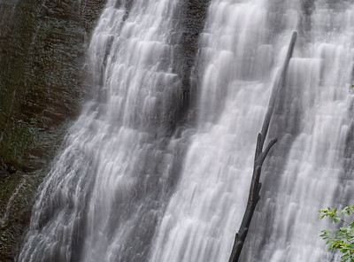 Close Up on the Falls