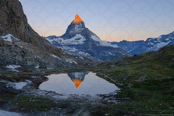 Matterhorn at Sunrise Wide 2
