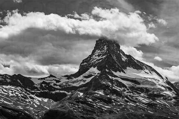 The Matterhorn in Monochrome