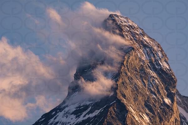 Matterhorn Peak with Clouds