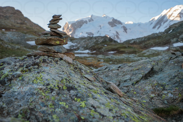 The Little Cairn at Riffelsee