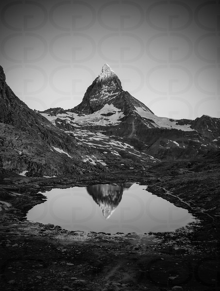 Matterhorn at Sunrise Portrait 3
