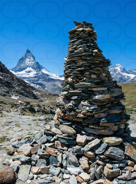 Riffelsee Cairn