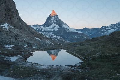 Matterhorn at Sunrise Wide 3