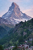 The Matterhorn Over Zermatt