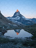 Matterhorn at Sunrise Portrait 2