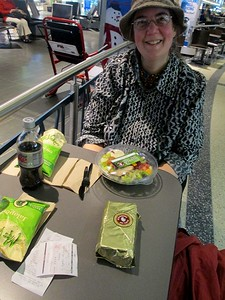 meal at logan airport, boston