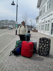 leaving brunswick, maine for Ireland