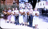 Best Chicken Contest during Centennial; Billy Cornelius 2nd from right (Photo courtesy of Hazel (Mrs. D. D. Vickery; from 35 mm slide)