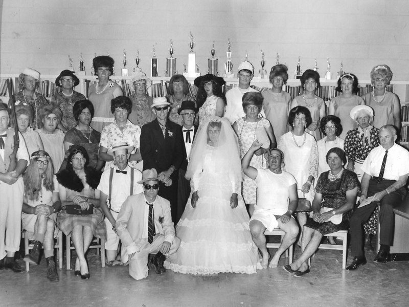 Womanless Wedding in Alapaha, April 1967