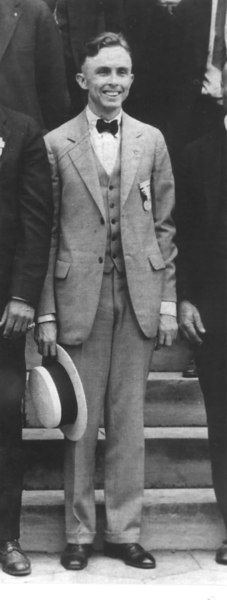 Governor Ed Rivers, about 1925
