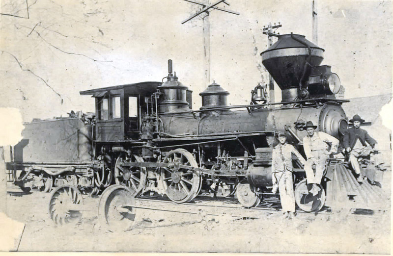Engine of the Milltown Air Line railroad