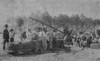 One of the first hay balers in Berrien County, about 1915. Only person identified was Dr. L. A. Carter, far left. Photo from newspaper clipping. Original photo needed.