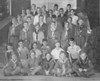 "Nashville Boy Scouts - Feb. 1949<br /> <br /> The Nashville Herald, front page, February 17, 1949<br /> THE ""VIGILANTIES"" have been out of power here for almost a week now but they made such an impression that citizens still hesitate a second or two before breaking the numerous minor traffic regulations that they have become accustom to through the years.  The ""vigilanties"" - or Nashville Boy Scouts - ruled the city last Friday and their treasury really ""got right"" from fines paid by jay-walking citizens, etc.  Scouts shown here, left to right are:  Front row, Max Gaskins, Joe Tripp, Jerry Miller, Donald Bacon, Raymond Shaw.  Second row, Ralph Mathis, Johnny Hancock, Swinton Futch, Harold Griffin, Donald Powell, Jimmy Futch.  Third, Bobby Griffin, Bobby Cameron, Sonny Nix, Jimmy Powell, Bert Maxwell, Pete Griner.  Fourth, Talmadge Hughes, Robert Nix, Charlie Bailey, ""Mayor"" Jerry Ward, Jerry Shaw.  Back rows, Billy Richardson, Roy DeVane, Assistant Scoutmaster Lossie Gaskins, Eugene Rudeseal, Billy Maulden, Wesley Hughes, Ernest Rudeseal, Paul Griner, Braxton Bailey, Fred Ward.  Photo by Jamie Connell."