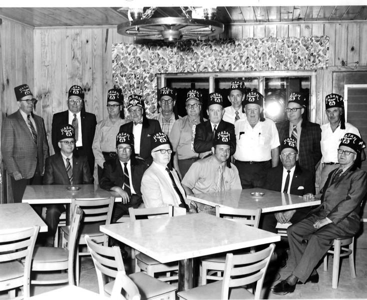 Berrien County members of Hasan Shriner's Temple of Albany, Georgia, circa 1970s