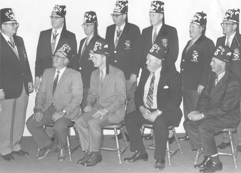 Shriners Officers, April 1971