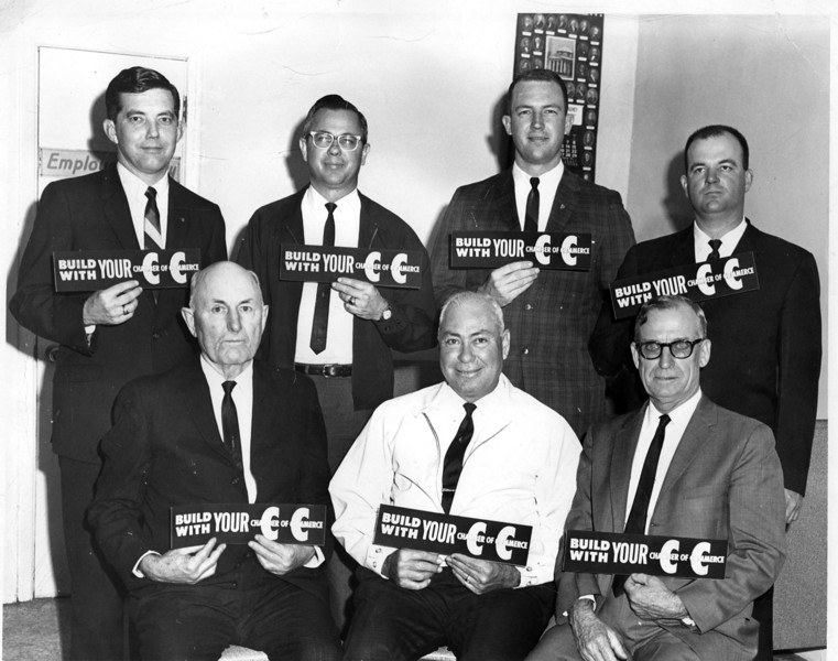 Chamber of Commerce Officers, March 1966
