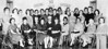 Home Demonstrators Fashion Show February, 1962. Left to right Front row: Mrs. L.M. Tucker, West Berrien; Mrs. Chloe Johnson, Ray City; Mrs. Wallace Conner, Avera Mill; Mrs. Olan Griner, East Berrien; Mrs. Lewis King, Flat Creek; Mrs. R. A. Stallings, New Lois; Mrs. Hoyt Crumley, Enigma; Mrs. J. W. Beasley, Avera Mill; Mrs. W. L. Peters, New Lois; Mrs. W. E. Griffin, Flat Creek. Left to right standing: Mrs. Hyman Sirmans, Allenville; Mrs. Maurice McMillan, Enigma; Mrs. H. D. Harris, Allenville: Mrs. Ken Holyoak, Enigma; Mrs. James Shaw, Deep Ditch; Mrs. Tommie Luke, Cottle; Mrs. Rufus McGee, Flat Creek; Mrs. Eugene Jones, Flat Creek; Mrs. W. D. Garrison, Ray City; Mrs. J. C. Rowan, Deep Ditch; Mrs. E. L. Mobley, Ray City; Mrs. C. B. Robertson, Allenville; Mrs. Fred Tyson, Cottle; Mrs. L. A. Lewis, Avera Mill; Mrs. Thomas Heath, the Square; Mrs. Essie Swilley, the Square;  Mrs. Joe Duggan, East Berrien; Mrs. Jim Anderson, New Lois;  Mrs Jimmy Lewis, Avera Mill.