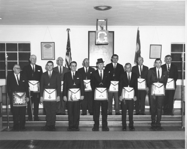 Masons 1969 Officers