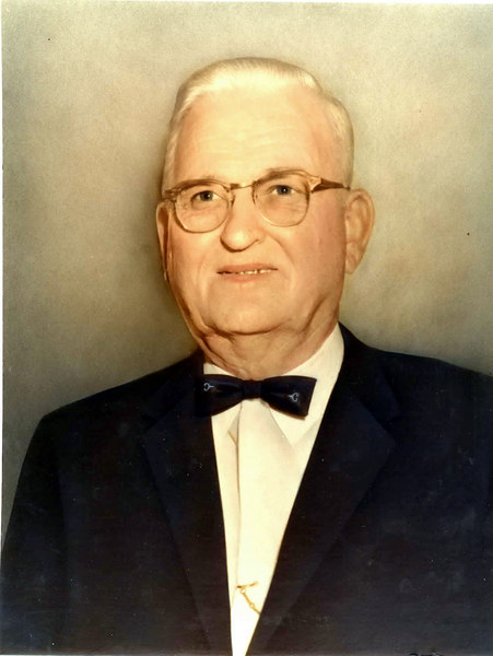 Honorable Byrd Griner<br /> Judge, Court of Ordinary, Probate Court <br /> Served from 1937 through 1968