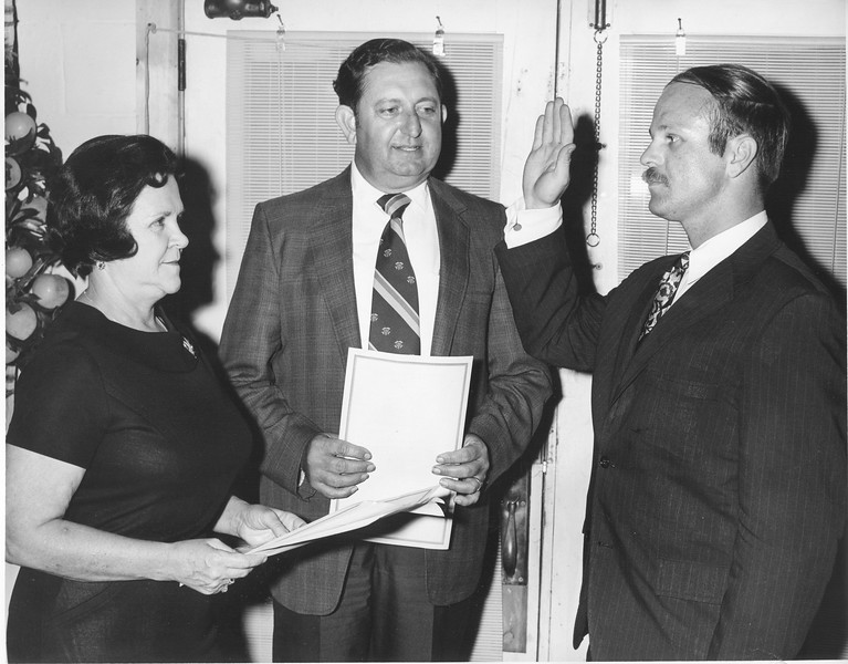 Waugh Turner Oath as Attorney, October 1970