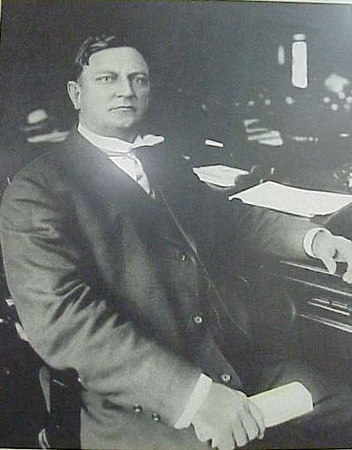 --------------------JUDGE ROBERT G. DICKERSON--------------------<br /> ------JUDGE OF SUPERIOR COURTS OF ALAPAHA JUDICIAL CIRCUIT--------------------------------------JANUARY 1,1919-OCTOBER 2,1924-----<br /> <br /> Judge Robert G. Dickerson was born October 27,1871 in Clinch County, Georgia, the son of David and Milinda Sirmans Dickerson.<br /> <br /> He was educated in the public schools of Clinch County, taught school for a short time, and attended Florida Normal College in White Springs, Florida.<br /> <br /> He was admitted to the Bar of Georgia in 1893, and practiced law in Homerville, Georgia until 1919.<br /> <br /> When the Alapaha Judicial Circuit was created in 1919, he was made Judge and held the position until his death on October 2.1924.<br /> <br /> Judge Dickerson held elective appointive post most of his professional life. He served as a member of the House of Representatives 1896 to 1898 and 1915 to 1916. He was a member of the Georgia State Senate 1899-1901 and 1917-1918. when the County Court of Cl;inch County was established in 1901, he was appointed solicitor and served by re-appointments until 1907. In 1902 he was a member of the State Democratic Executive Committee, and was chairman of the county executive committee for several years.<br /> <br /> He also held varius positions as councilman, town clerk, local school trustee,and treasure of Clinch County.<br /> <br /> He married the former Orie L. Moon of Scottsville,Virginia on JUNE 27,1897, They were the parents of four sons; Glenn Dickerson, James Dickerson, Frank Dickerson, Cary Dickerson.
