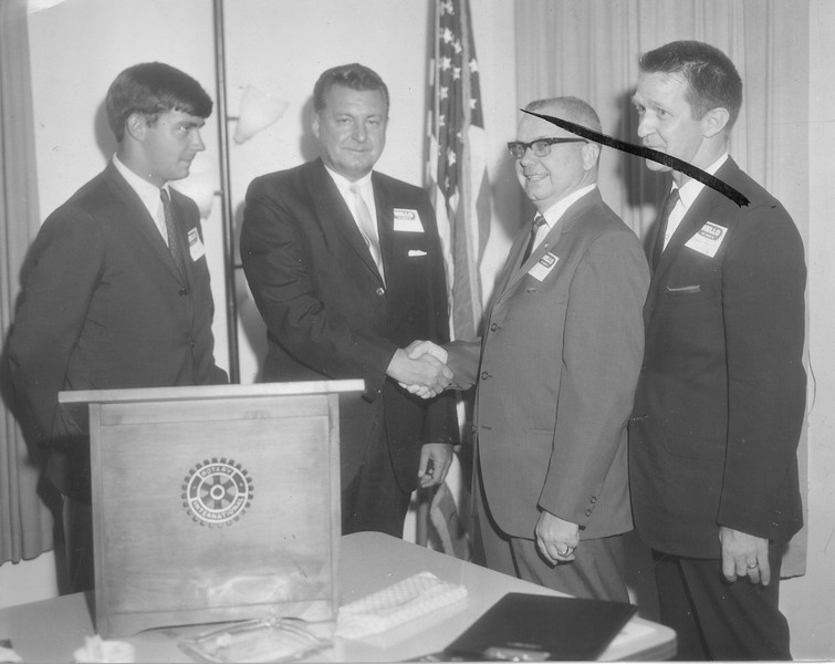 Rotary Greetings, July 1966