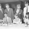 VFW supper for BHS basketball teams - April 1968