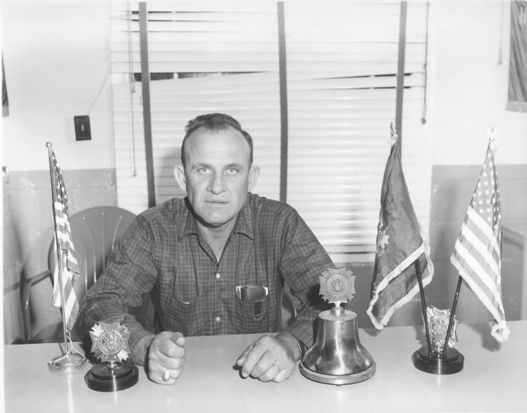 W.R. Roberts - VFW Commander